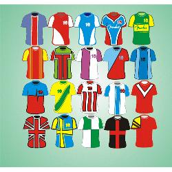 Modelos de camisetas de futbol Remeras con publicidad